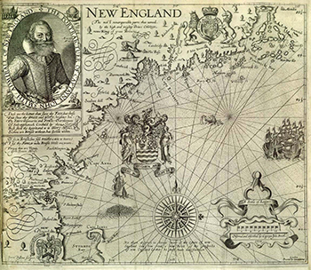 1616 John Smith. New England.