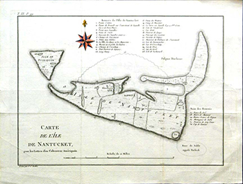 1787 Crèvecœur. Nantucket.