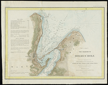 1847 Whiting. Harbor of Holmes' Hole.