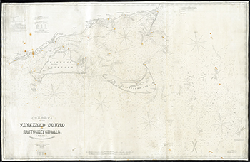1874 Eldridge. Chart of the Vineyard Sound and Nantucket Shoals.