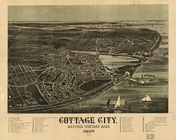 1890 Cottage City Birdseye View.