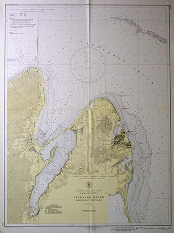 1937 U.S. Coast and Geodetic Survey. Vineyard Haven.