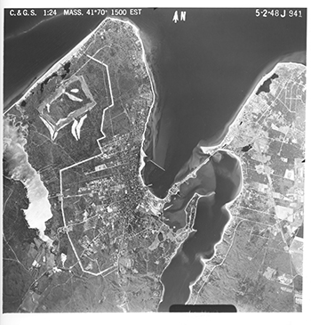 1948 Aerial Photographs of Vineyard Haven.