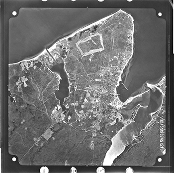 1955 Aerial Photographs of Vineyard Haven.