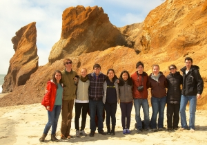 Students enjoying a trip to Martha's Vineyard