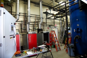 Harvard Forest thermal biomass system
