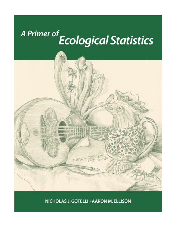 Cover Art for A Primer of Ecological Statistics