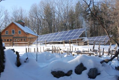 Green Garage Built By Harvard Forest Wood Crew