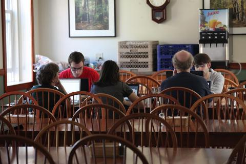 Summer Research Program Students And Mentors Collaborate On Analytic Web Project