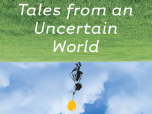 "Cover of the book titled ""Tales from an Uncertain World""."