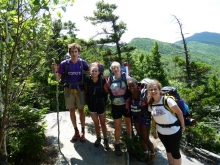 Harvard Forest Summer Research Program group hike