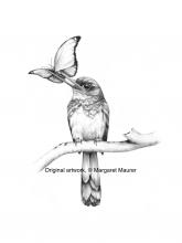 An illustration of a bird.