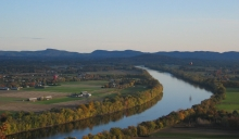 Hot air balloons by Mt.Sugarloaf