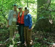 Rebecca Walker, Jennifer McGarvey, and Stevie Gildehaus at Belt Woods