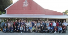International conference field trip group co-organized by Harvard Forest
