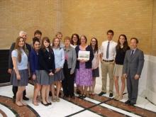 Lise LeTellier environmental education award