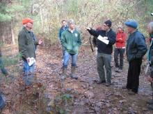 The Massachusetts Keystone Project gathering at Harvard Forest.