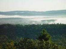 Quabbin in mist