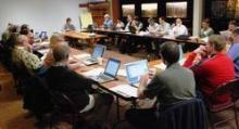 Workshop attendees 1
