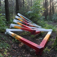 Fast Forward - Hemlock Hospice Installation by David Buckley Borden