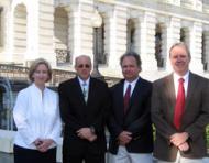Kathy Fallon Lambert, David Evers, David Gay and Charley Driscoll
