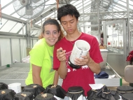 Justine Kaseman and Angus Chen
