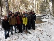 Harvard Forest Winter Break Week 2014