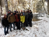 Harvard Forest Winter Break Week 2014