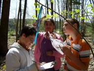 Schoolyard Ecology students at work