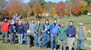 Harvard Graduate Students Tour Harvard Forest