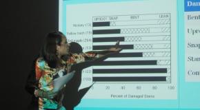 Summer Research Program Student Presents Hurricane Experiment