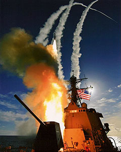 US Navy Missile Launch