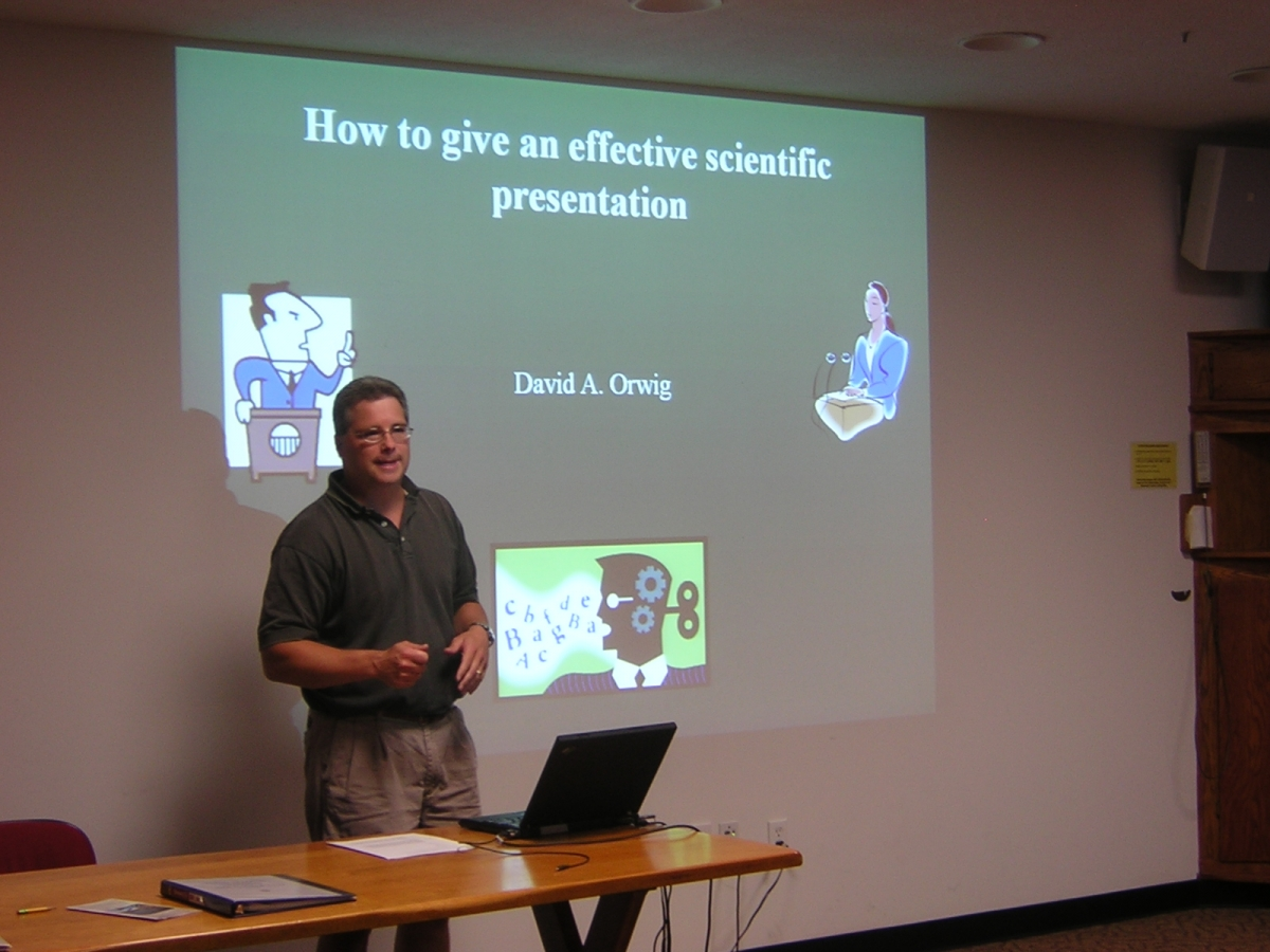 Seminar  Good Scientific Presentation Skills