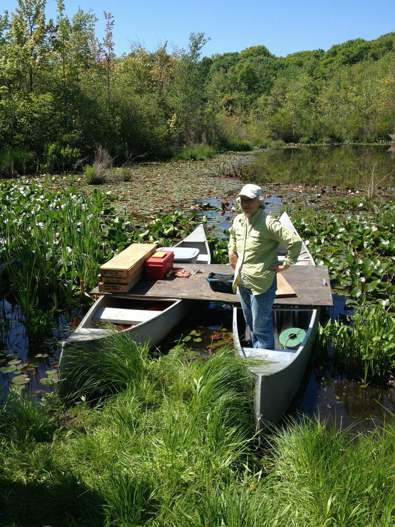 Harvard Forest: My First Lake Coring Trip