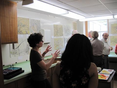 Debby Kaspari hosts an open house
