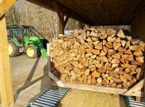 Cordwood for Biomass Station