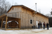 Harvard Forest biomass facility