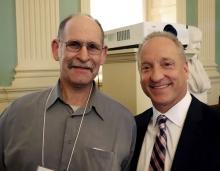 John Wisnewski with Dean Smith