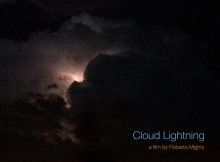 Cloud Lightning poster by Roberto Mighty