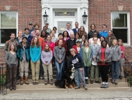 The 2014 Summer Research Students and their Mentors