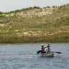 Summer Research Program Student And Mentor In A Martha's Vineyard Pond