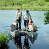 Coring Blaney Pond