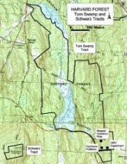 Tom Swamp Tract Map